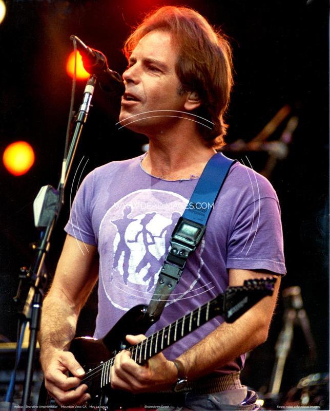 Bob Weir - May 24, 1992 - Mountain View, CA
