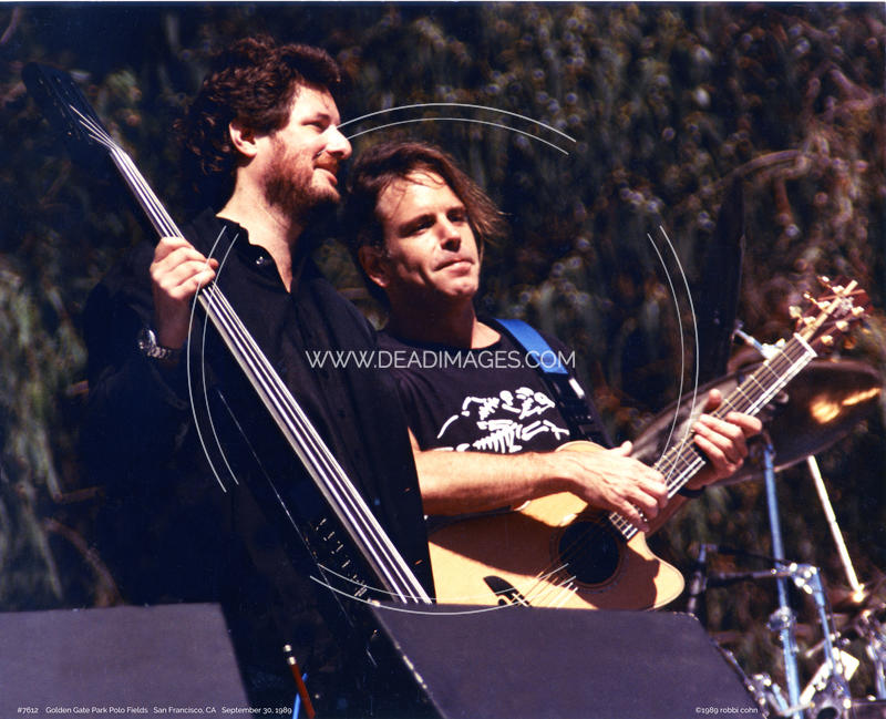 Bob Weir, Rob Wasserman - September 30, 1989