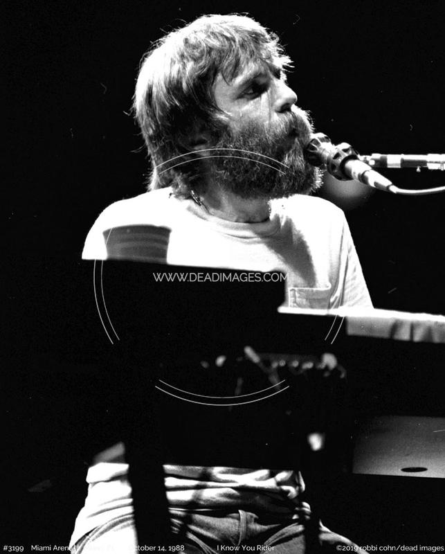 Brent Mydland - October 14, 1988