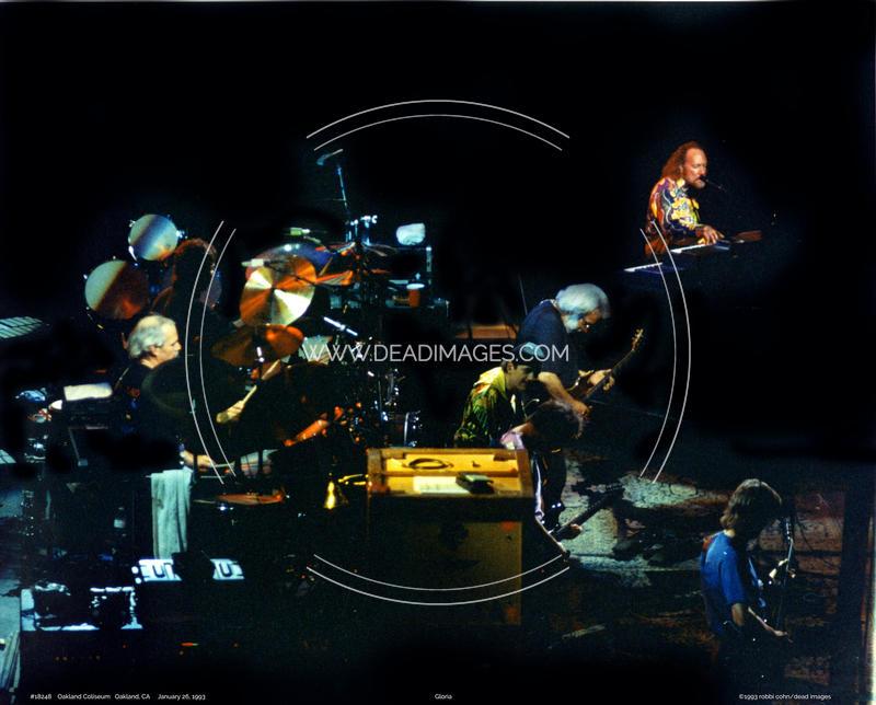 Grateful Dead, Carlos Santana - January 26, 1993