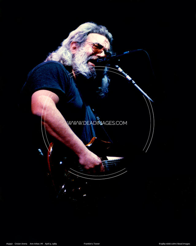 Jerry Garcia - April 5, 1989 - Ann Arbor, MI