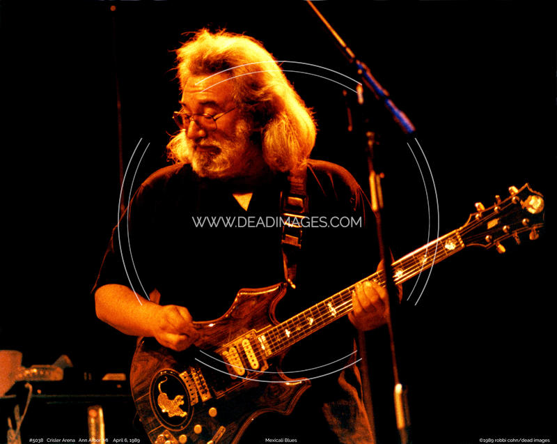 Jerry Garcia - April 6, 1989 - Ann Arbor, MI