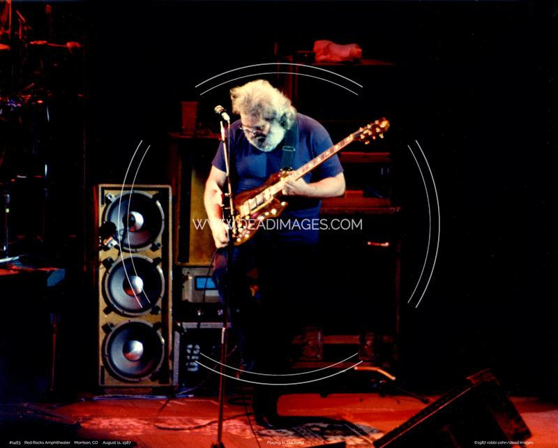 Jerry Garcia - August 11, 1987