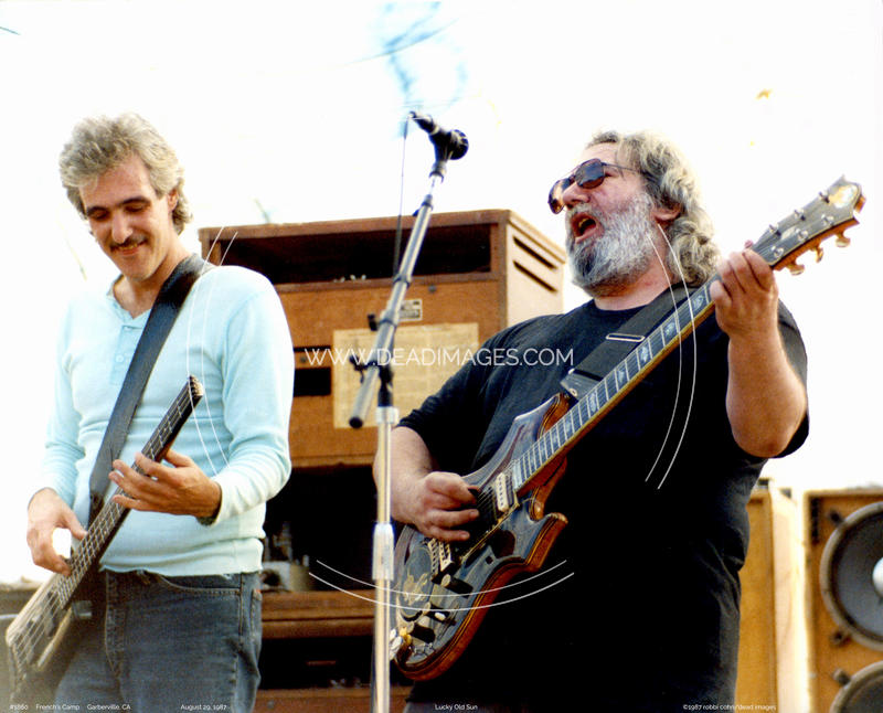 Jerry Garcia - August 29, 1987 - Garberville, CA