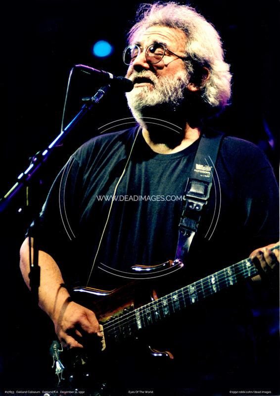 Jerry Garcia - December 11, 1992 - Oakland, CA