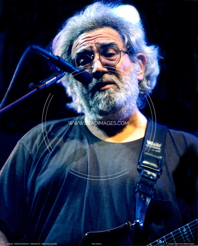 Jerry Garcia - December 16, 1992 - Oakland, CA