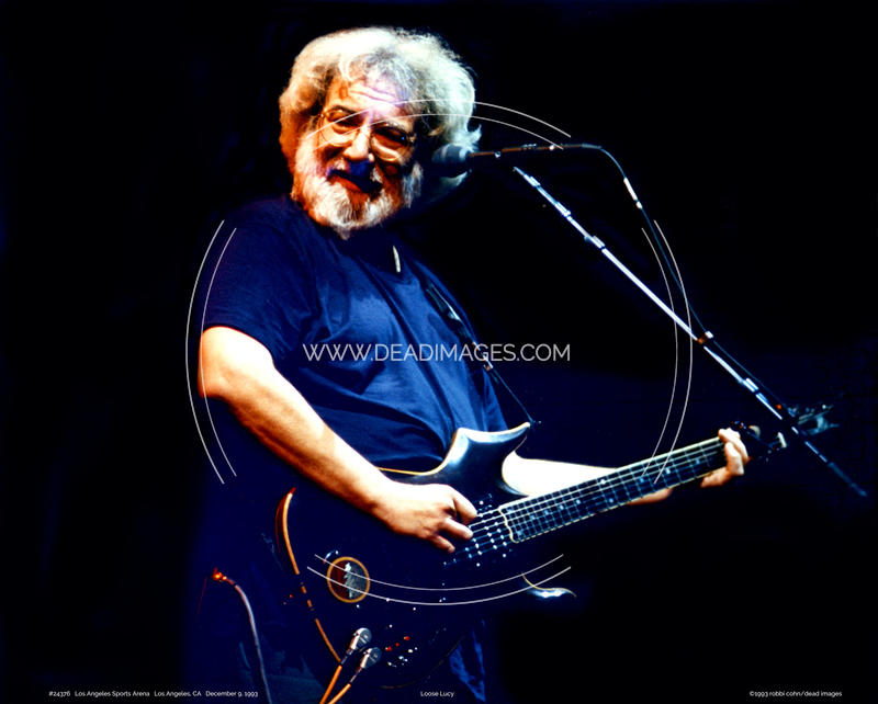 Jerry Garcia - December 9, 1993 - Los Angeles, CA