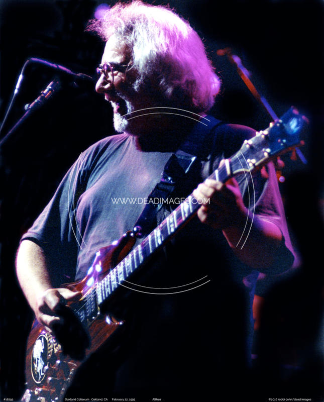 Jerry Garcia - February 22, 1993 - Oakland, CA