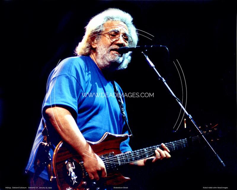 Jerry Garcia - January 25, 1993 - Oakland, CA