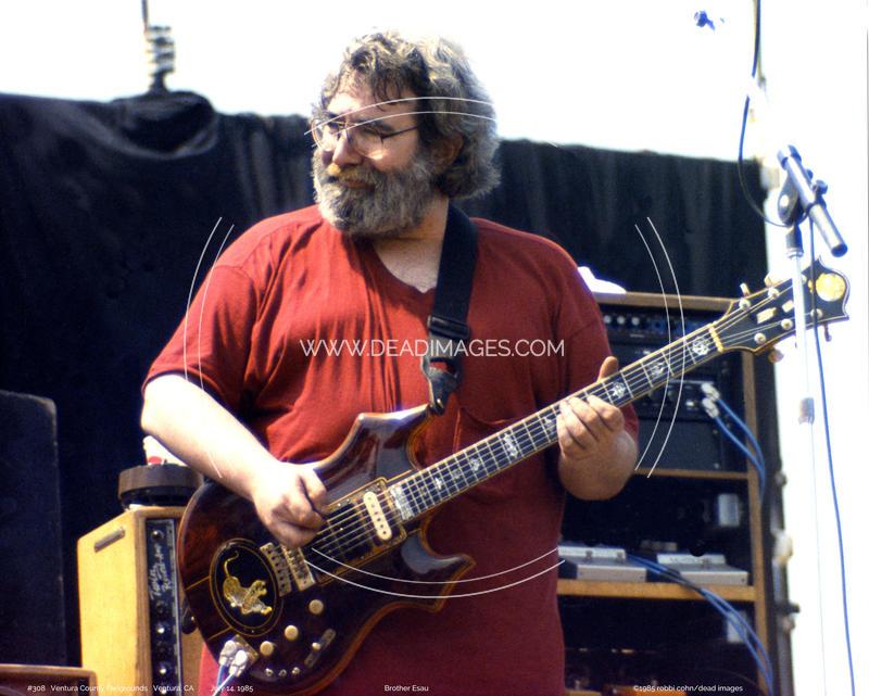 Jerry Garcia - July 14, 1985 - Ventura, CA