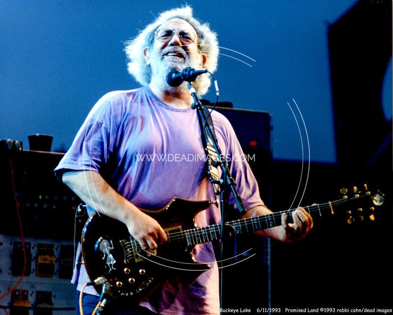 Jerry Garcia - June 11, 1993 - Hebron, OH