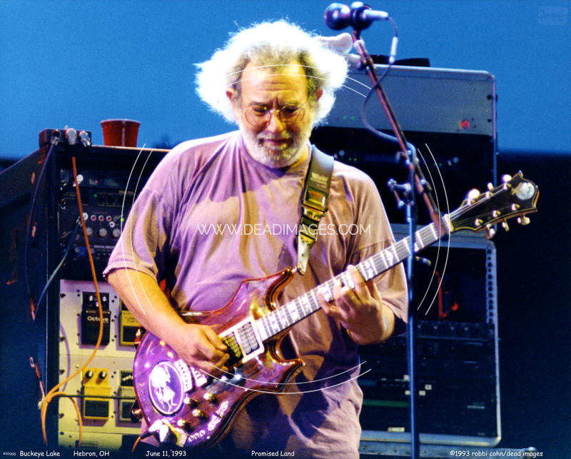 Jerry Garcia - June 11, 1993 - Hebron, OH