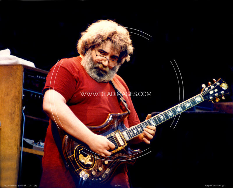Jerry Garcia - June 14, 1985