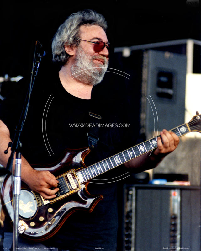 Jerry Garcia - June 20, 1988 - East Troy, WI