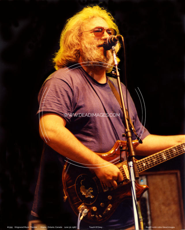 Jerry Garcia - June 30, 1987 - Maple, Ontario, Canada,