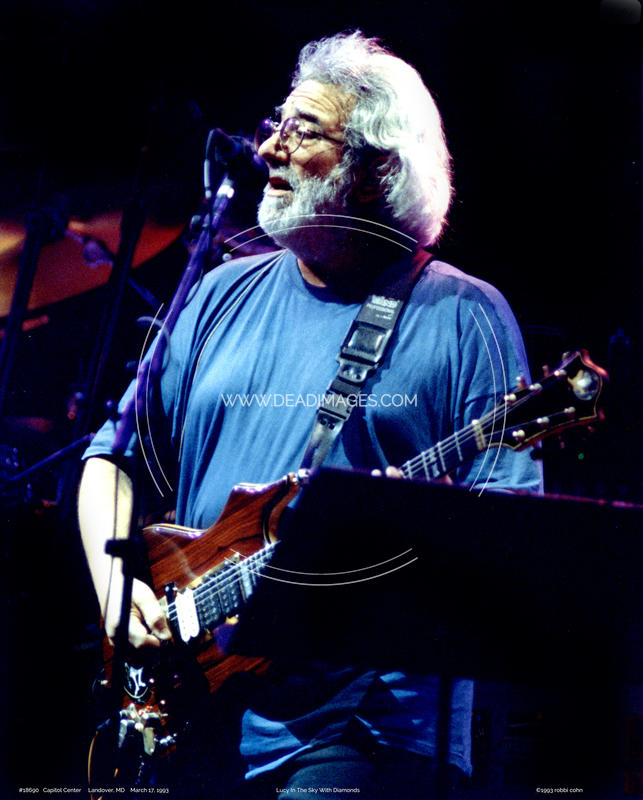 Jerry Garcia - March 17, 1993 - Landover, MD