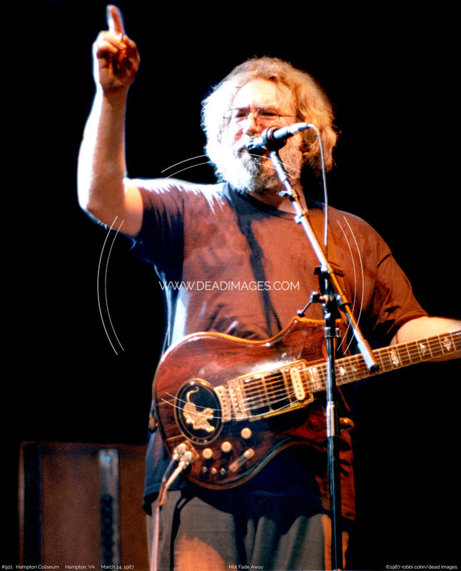 Jerry Garcia - March 24, 1987
