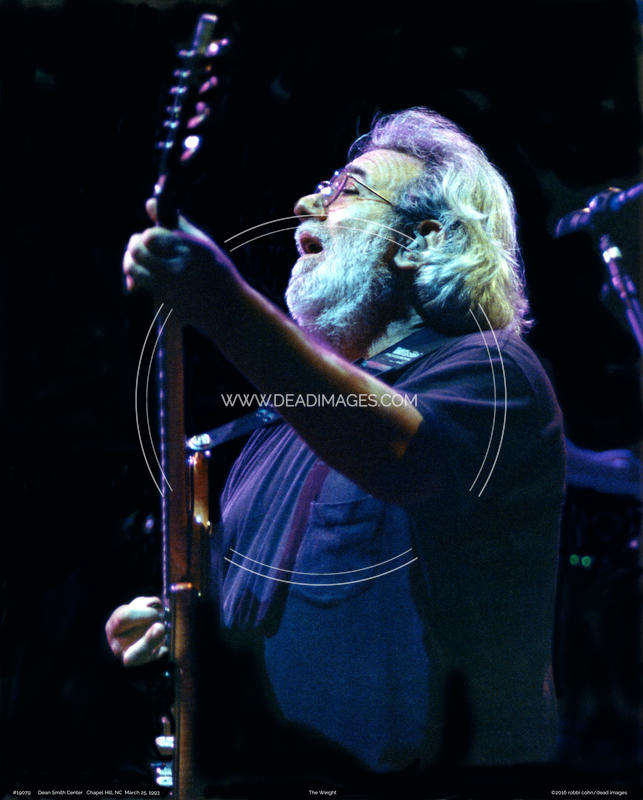 Jerry Garcia - March 25, 1993 - Chapel Hill, NC