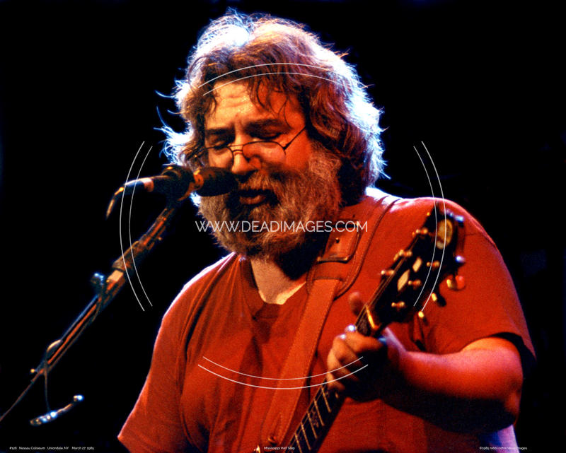 Jerry Garcia - March 27, 1985 - Uniondale, NY