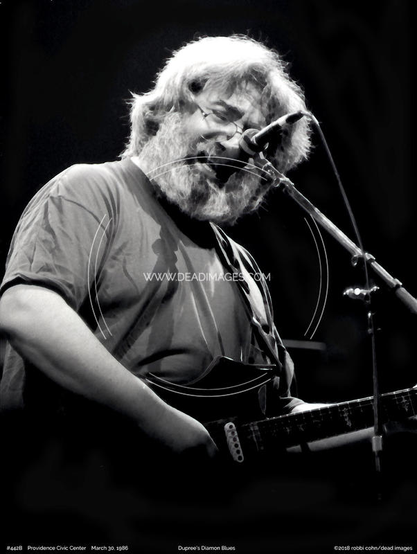 Jerry Garcia - March 30, 1986