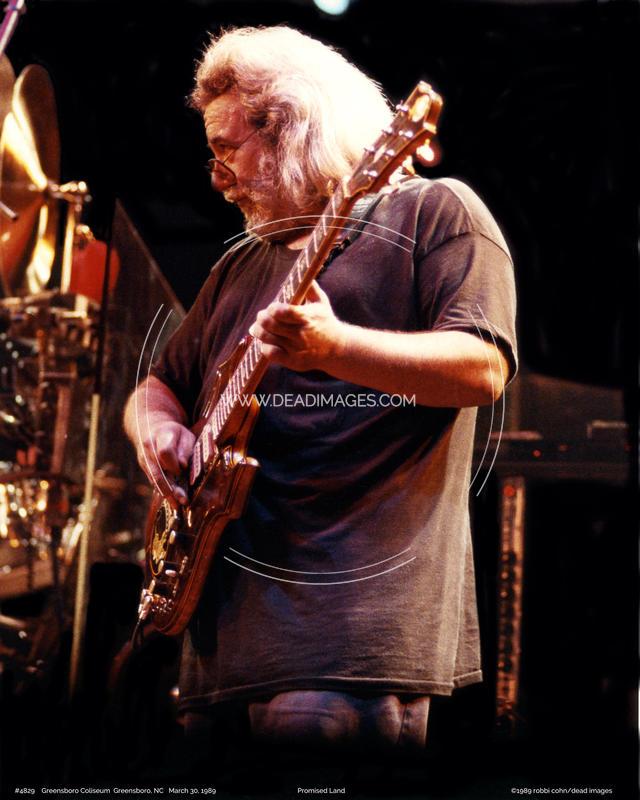 Jerry Garcia - March 30, 1989 - Greensboro, NC