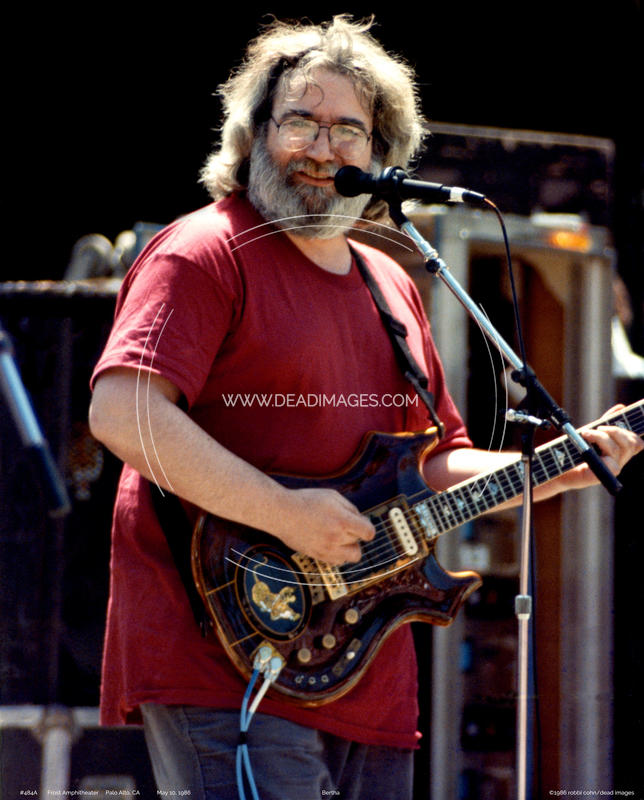 Jerry Garcia - May 10, 1986