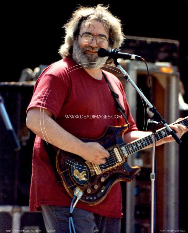 Jerry Garcia - May 10, 1986 - Palo Alto, CA