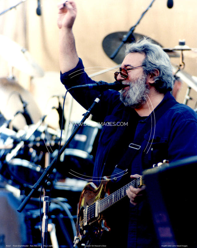 Jerry Garcia - May 1, 1988 - Palo Alto, CA
