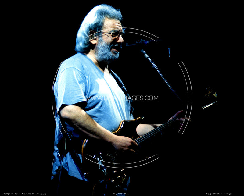 Jerry Garcia - May 9, 1993 - Auburn Hills, MI