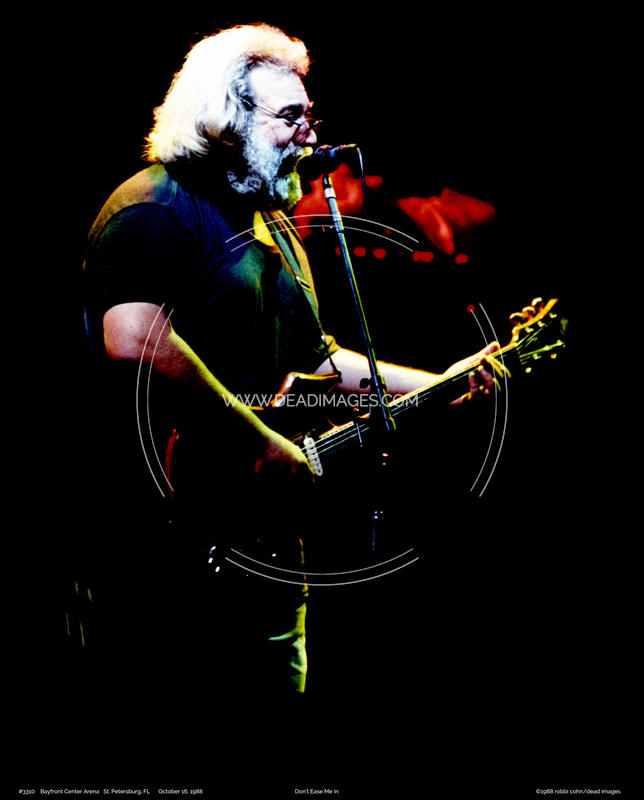 Jerry Garcia - October 16, 1988