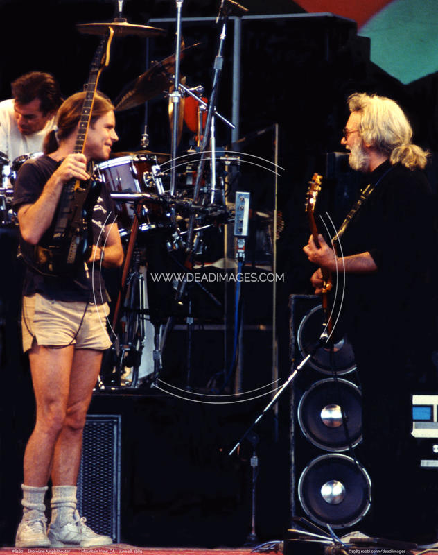Jerry Garcia, Bob Weir - June 18, 1989