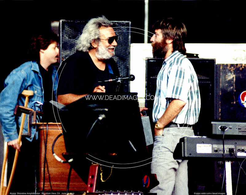 Jerry Garcia, Brent Mydland - June 15, 1990
