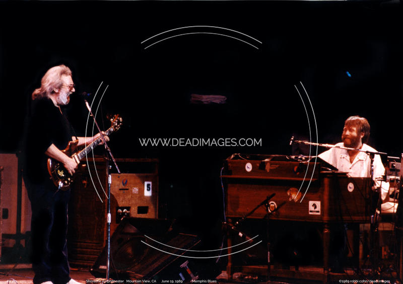 Jerry Garcia, Brent Mydland - June 19, 1989