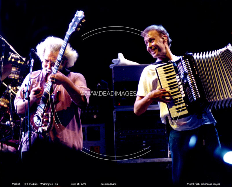 Jerry Garcia, Bruce Hornsby - June 25, 1993