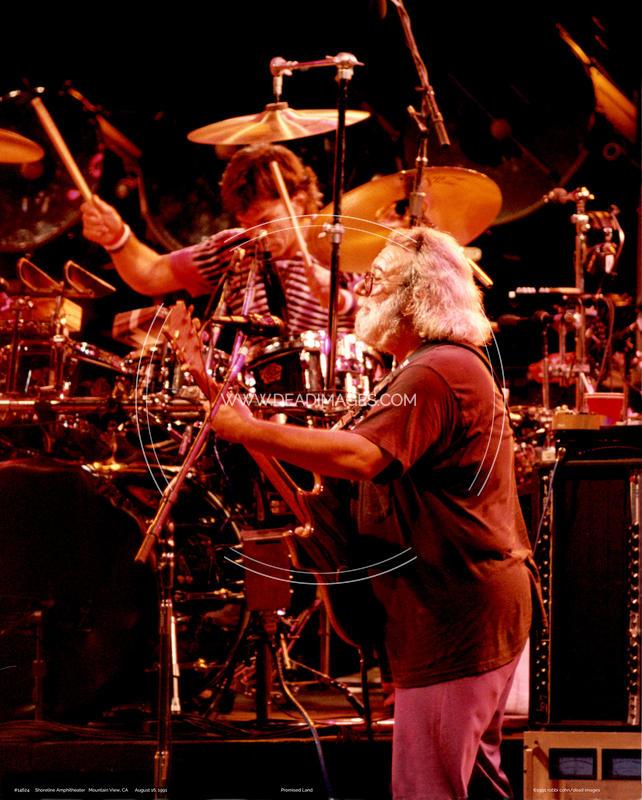 Jerry Garcia, Mickey Hart - August 16, 1991