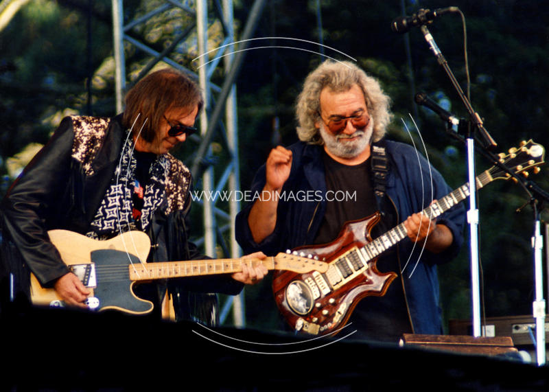 Jerry Garcia Neil Young November 3 1991 San