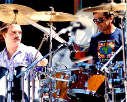 Bill Kreutzman, Mickey Hart - May 3, 1987 - Palo Alto, CA