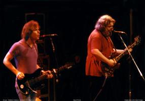 Bob Weir, Jerry Garcia - March 22, 1985