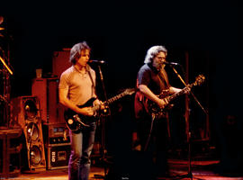 Bob Weir, Jerry Garcia - March 24, 1985