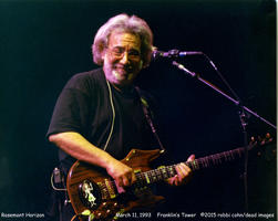 Jerry Garcia - March 11, 1993 - Rosemont, IL
