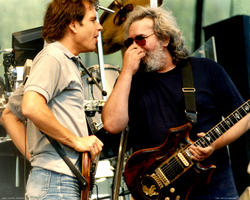 Jerry Garcia, Bob Weir - August 15, 1987