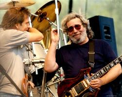 Jerry Garcia, Bob Weir - August 15, 1987