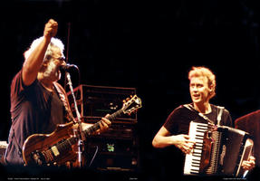 Jerry Garcia, Bruce Hornsby - July 10, 1990 - Raleigh, NC