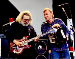 Jerry Garcia, Bruce Hornsby - May 11, 1991 - Mountain View, CA