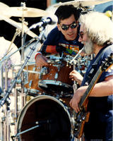 Jerry Garcia, Mickey Hart - May 3, 1987 - Palo Alto, CA