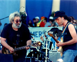 Jerry Garcia, Steve Kimock - July 16, 1988 - San Francisco, CA