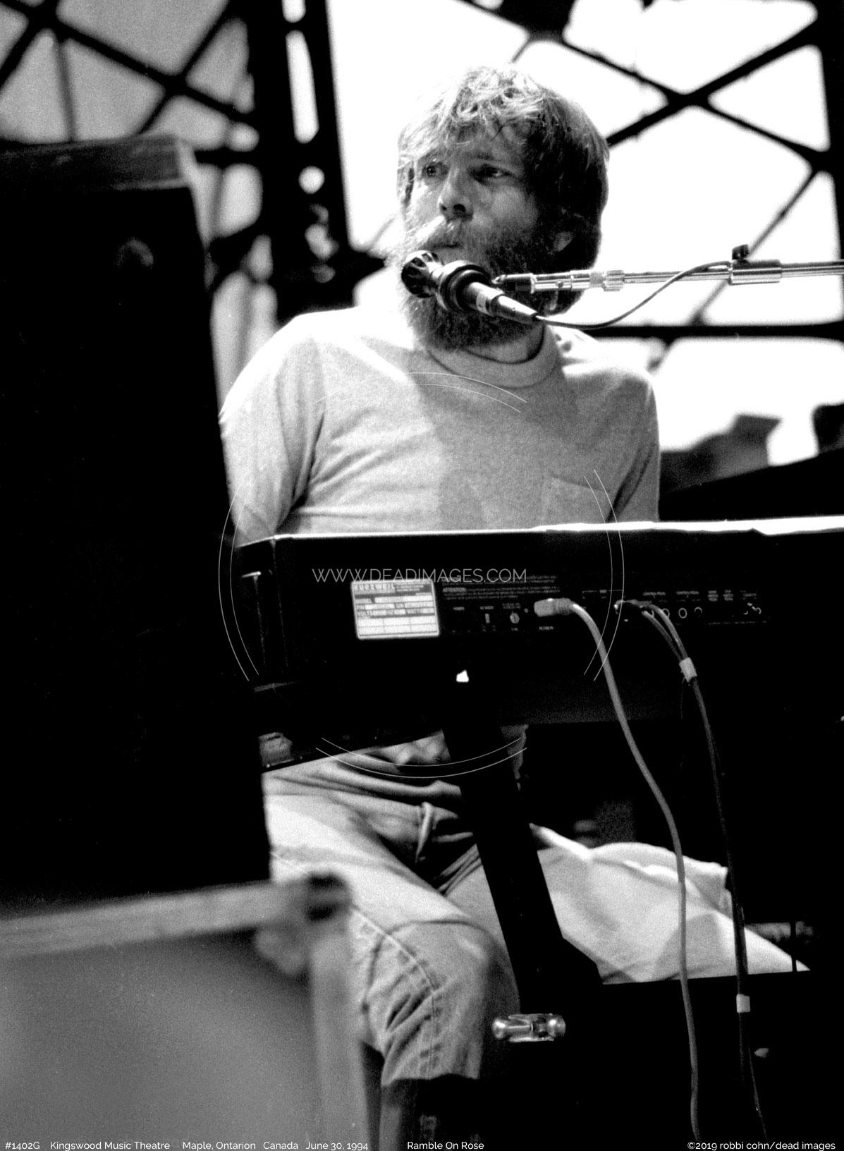 Brent Mydland - June 30, 1987 - Maple Ontario Canada, | Dead